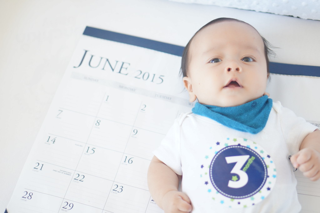 Lewis 3 month calendar photo