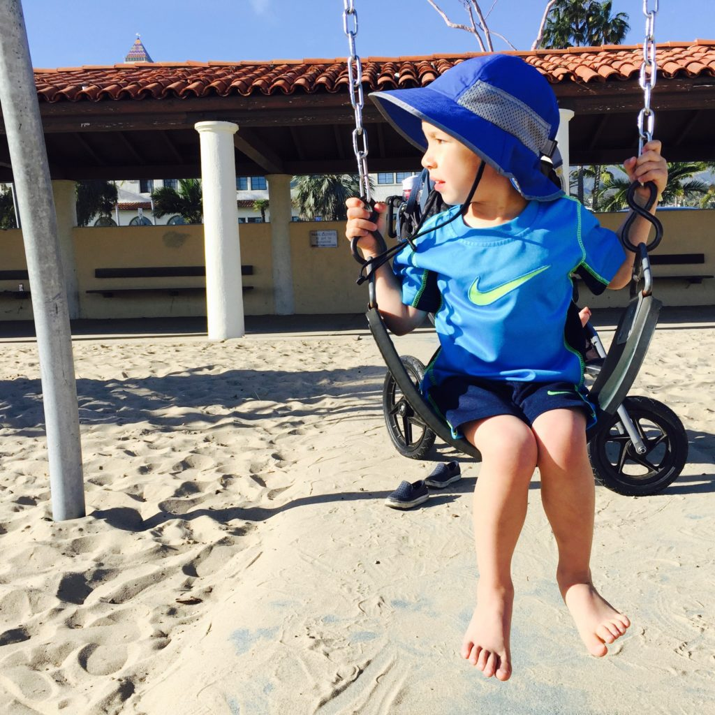 HB on swing
