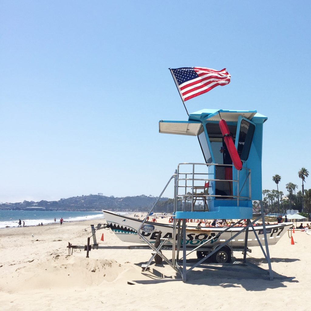 lifeguard station // santa barbara